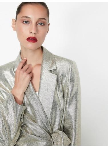 Ipekyol Ceket Gümüş